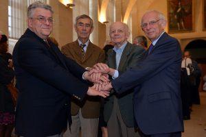 Les 4 Présidents de l'ASP fondatrice