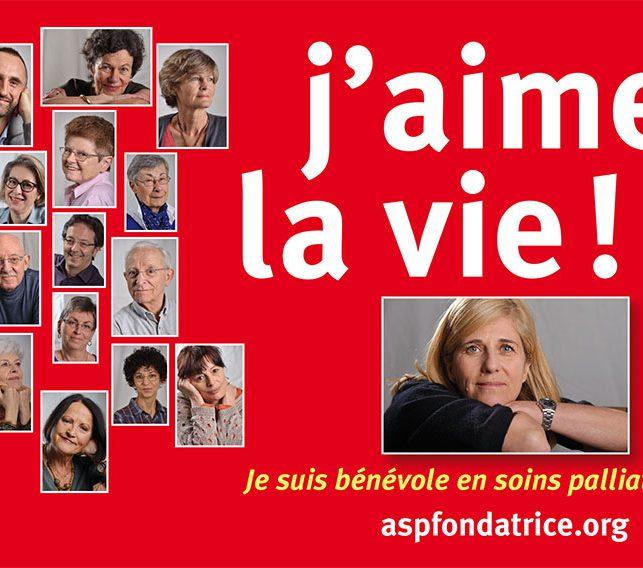 Soins palliatifs - Campagne de recrutement Accompagnants bénévoles, ASP fondatrice