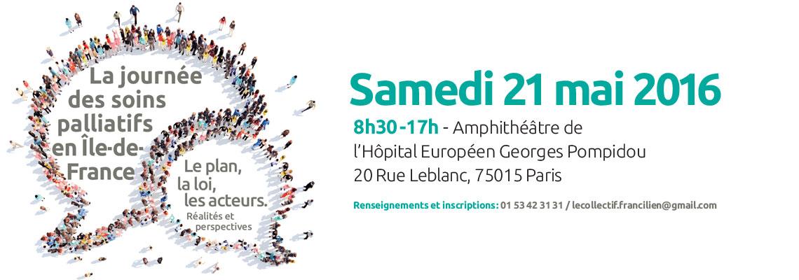 Journée des soins palliatifs en ile de france - Hôpital Pompidou