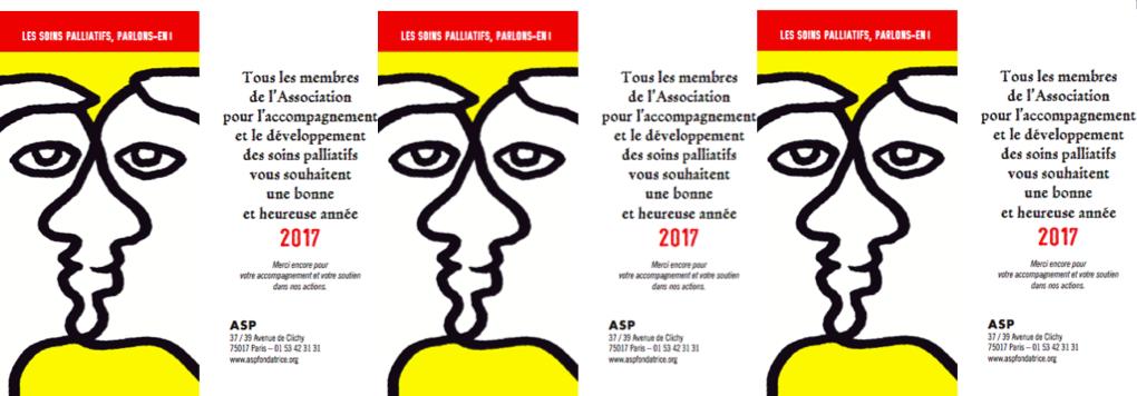 Voeux ASP fondatrice 2017 L'ASP fondatrice vous présente ses Meilleurs voeux !