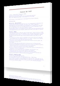 Statuts ASP fondatrice