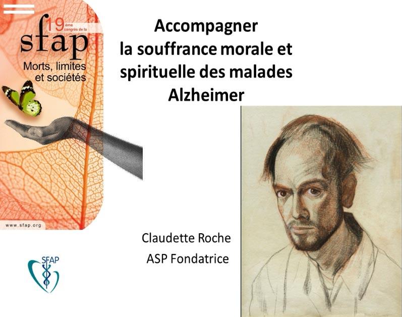 Accompagner la souffrance morale et spirituelle des malades Alzheimer