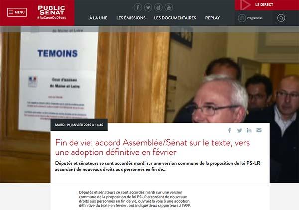 Commission mixte : accord trouvé sur la PPL fin de vie