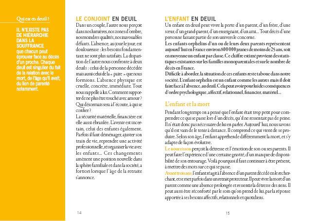 ASP fondatrice - Brochure Deuil