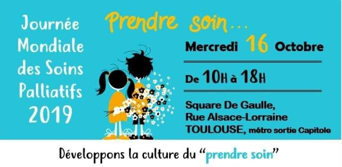 Journée de sensibilisation aux soins palliatifs le 16 octobre – ASP Toulouse
